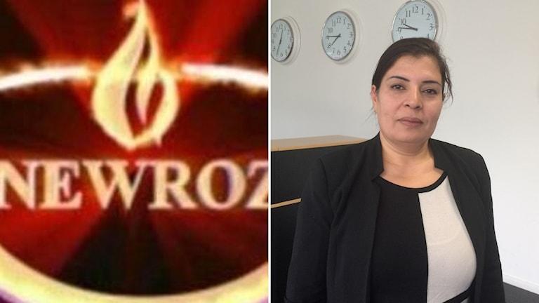 Newroz TV och kanalens arbetare Zeyneb Murad