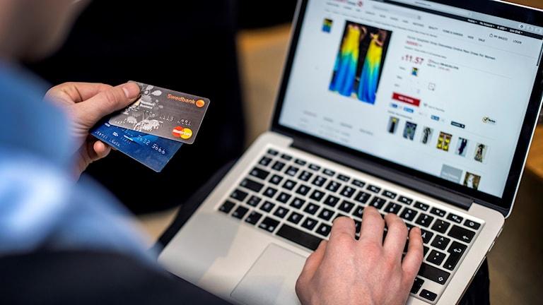 Bankkort, näthandel