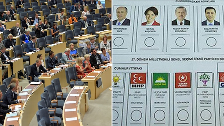 Turkiska val observatörer presidentval parlamentsval