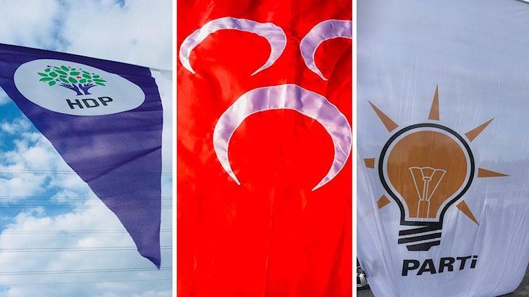 HDP MHP AKP turkiska valet