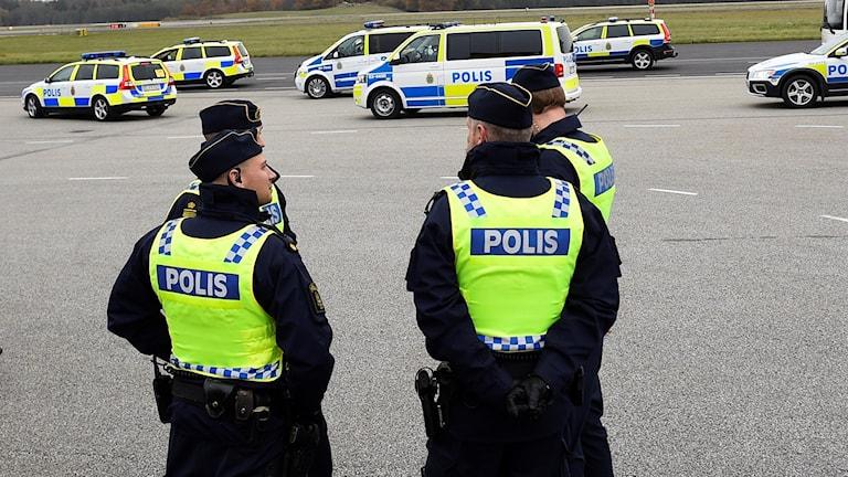 Polîsê swêdî.