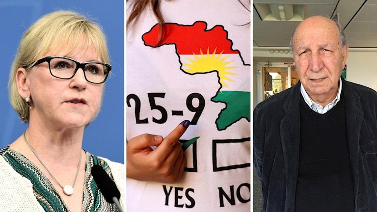 Margot Wallström kurdisk folkomröstning Omar Sheikhmous