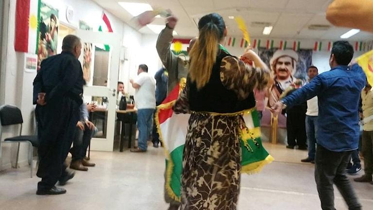 Komeleya kurdî li Göteborg. Wêne: prîvat.