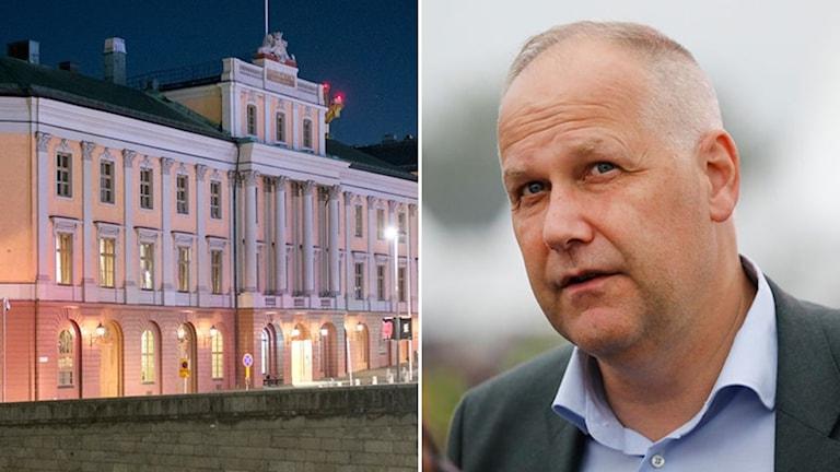 Jonas Sjöstedt, Utrikesdepartemendet, UD