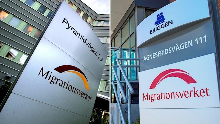 Migrationsverken i Stockholm och Malmö