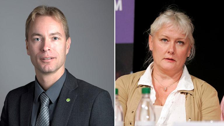 Jonas Eriksson û Lotta Hedström