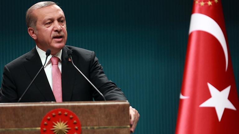 Serokê Tirkiyê Recep Tayyip Erdogan.