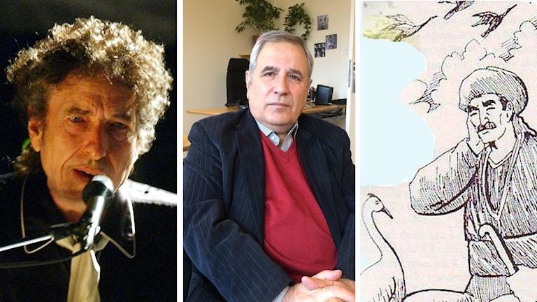 Bob Dylan, Rohat Alakom, Kagizman, Qaxizman, Serhed, Dengbêjî, Evdalê Zeynikê