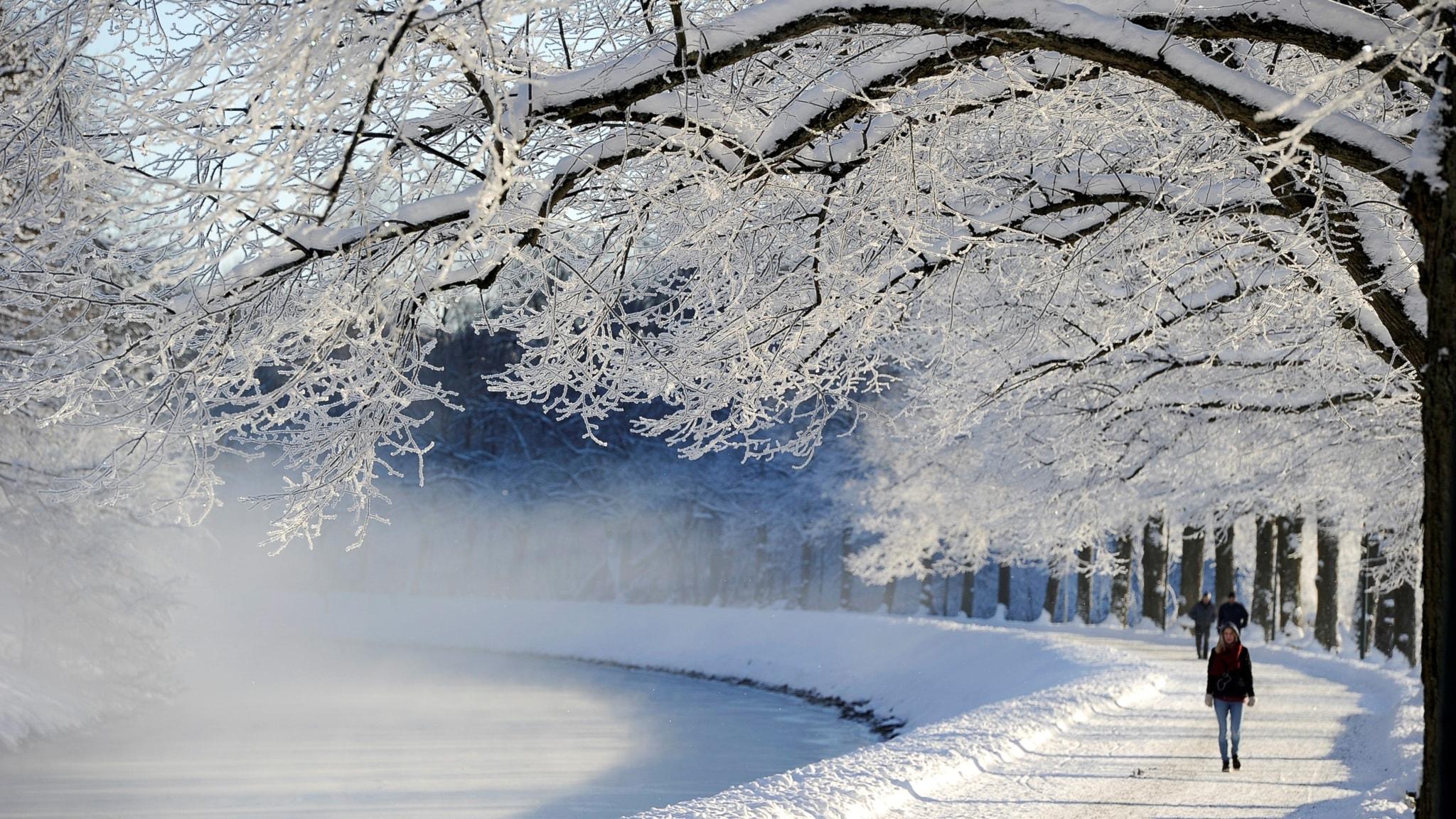 Î?ev ?eva herî sar ya zivistana îsal e. Xelata Jerringê ya werzi?ê gehi?t Hanna Öbergê