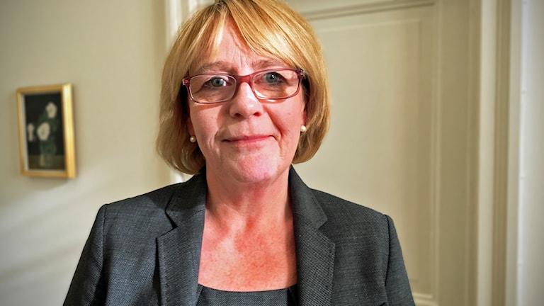 Irene Svenonius (M) finansregionråd.