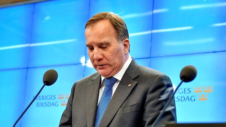 Serokê partiya Sosyaldemokratan Stefan Löfven.