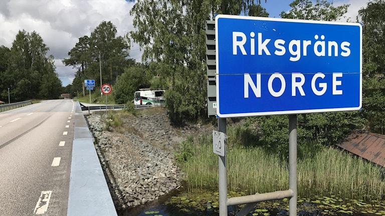Riksgränsen vid norge Dalsland