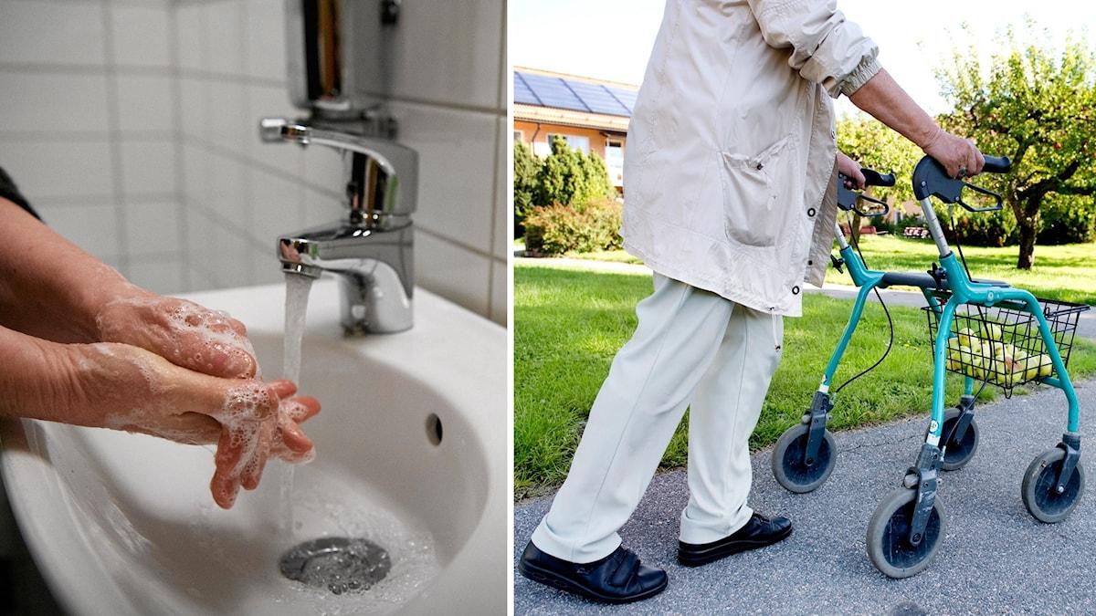 Det finns en oro bland vikarierande hemtjänstpersonal att smitta brukare, och tvärt om.