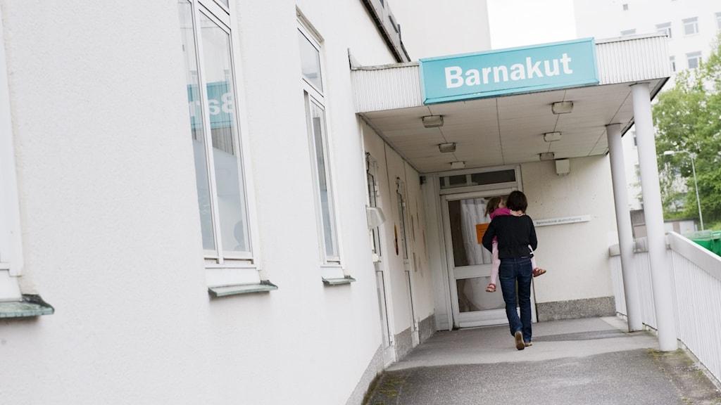 Barnakuten på Danderyds sjukhus.