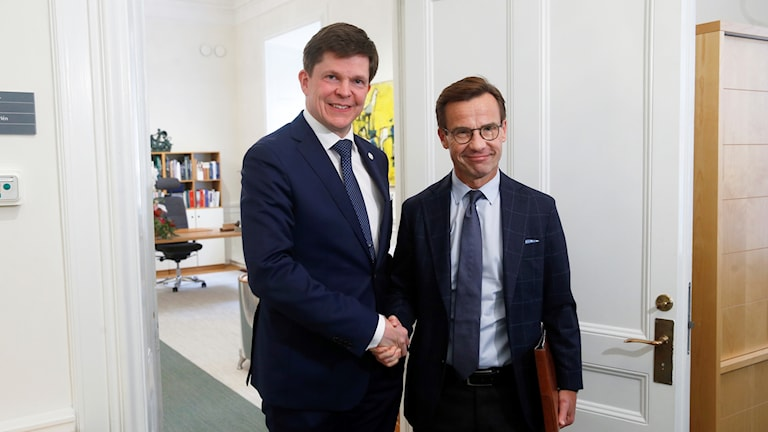 Andreas Norlen û Ulf Kristersson.
