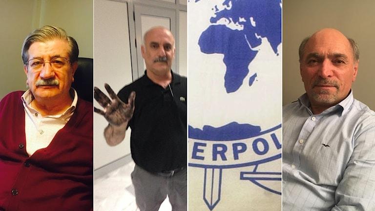 Hanefi Celepli, Hanef Tak, Tawfik Pirkizri, Interpol