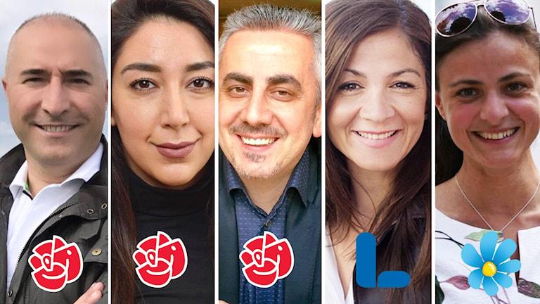 5 kurder Riksdagen 2018