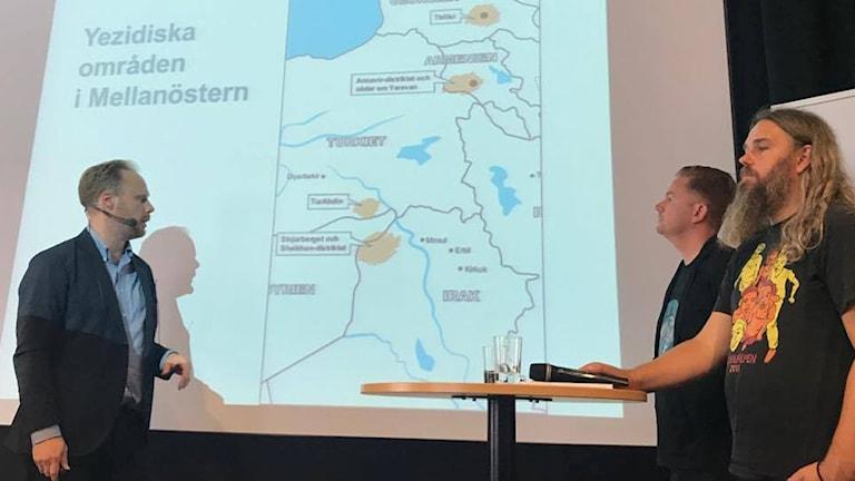 Grûpên olî yên nû li Swêdê. Wêne: Radyoya Swêdê.