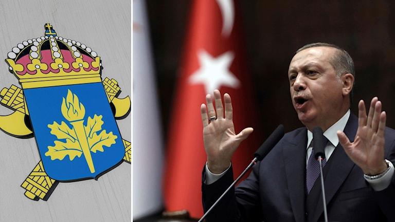 Säpo och Erdogan