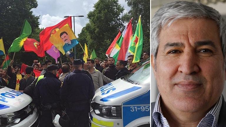 kurdisk protest, Shiyar Ali
