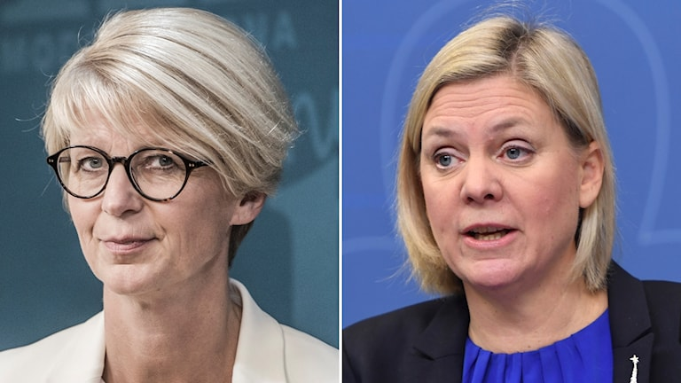 Elisabeth Svantesson û Magdalena Andersson