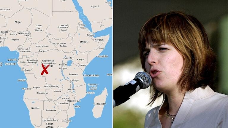 زیدا کتالان، از سوی سازمان ملل متحد ماموریت یافته بود تا در مورد کشتار دسته جمعی در کانگو کنشاسا تحقیق کند