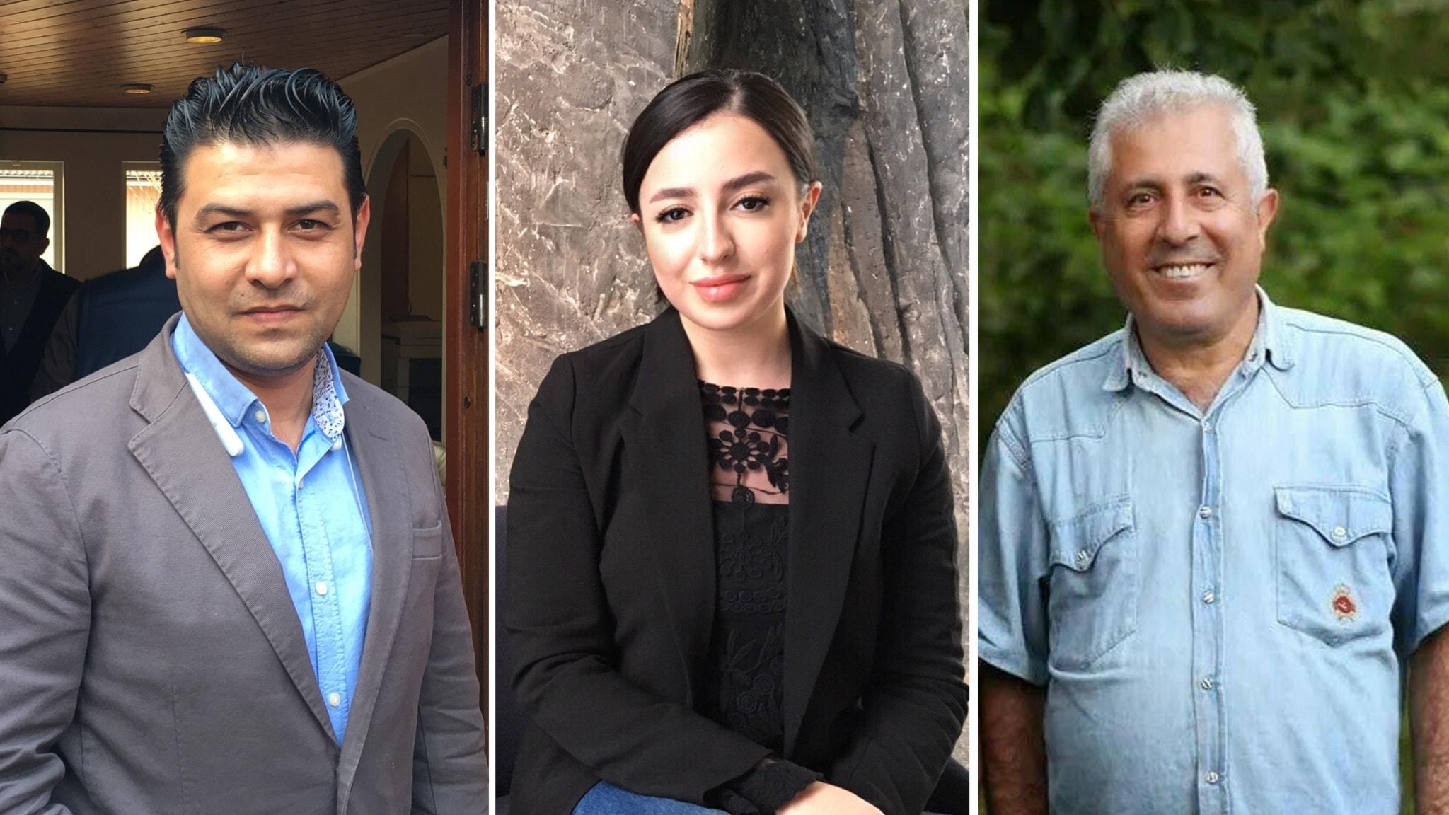 Svensk politiker flydde i kurdistan