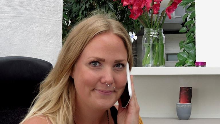 Maria Rundby. Foto: Henrik Wallenius/P4 Gotland