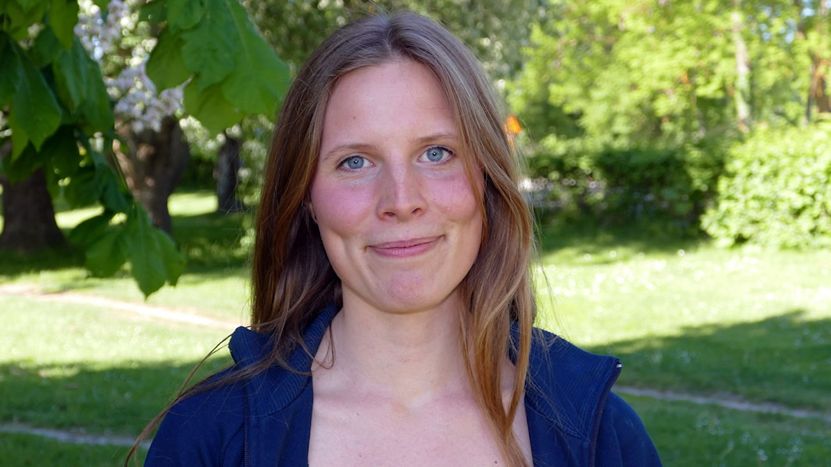 Amanda Heijbel. Foto: Jonas Neuman/Sveriges Radio
