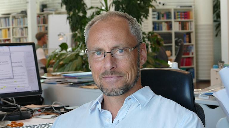 Patrik Annerud. Foto: Hanna Sihlman/Sveriges Radio
