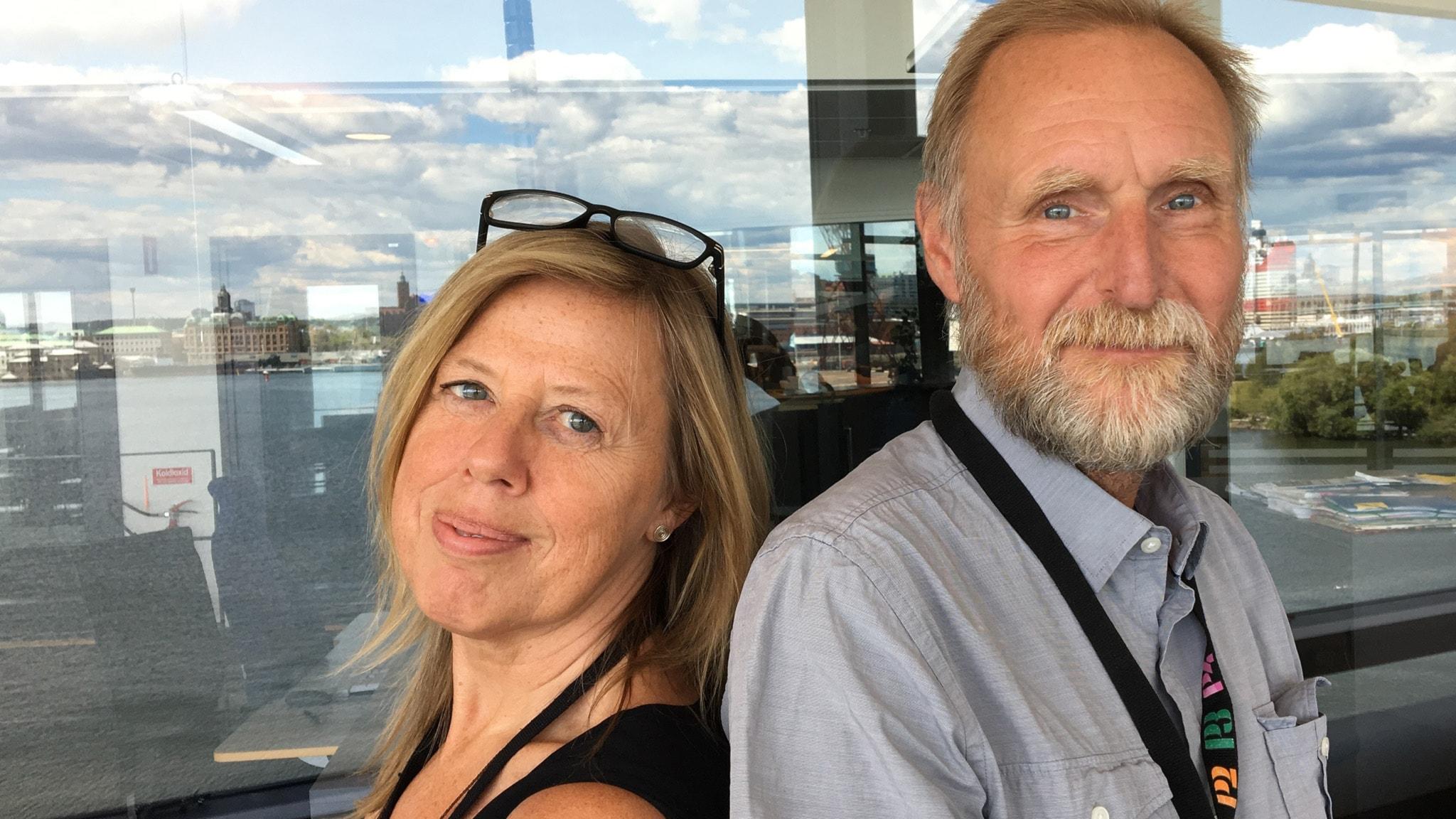 Med Linn Ohlsson och Peter Stenberg