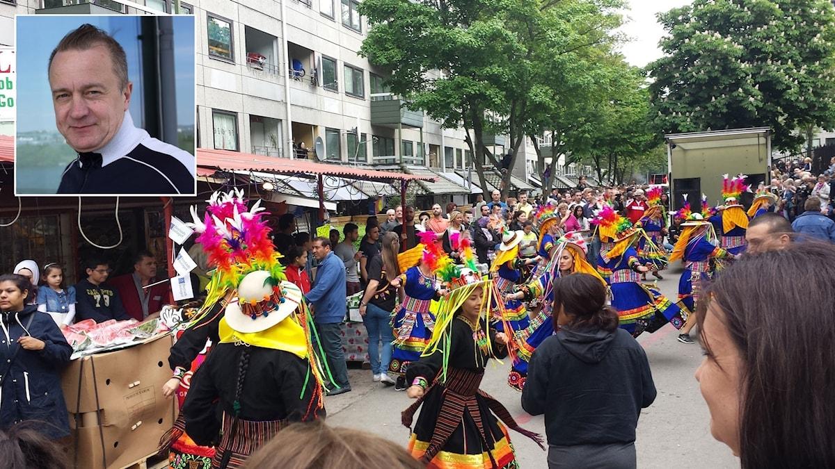Hammarkullekarnevalen och per Dahlberg