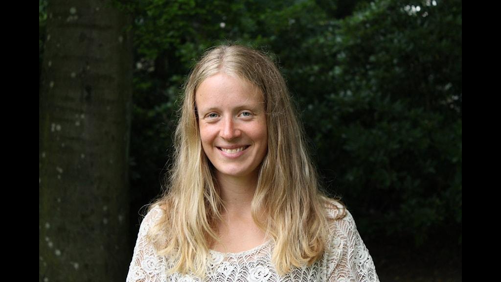 Therese Wahlgren. Foto: Göran Wiland/Sveriges Radio