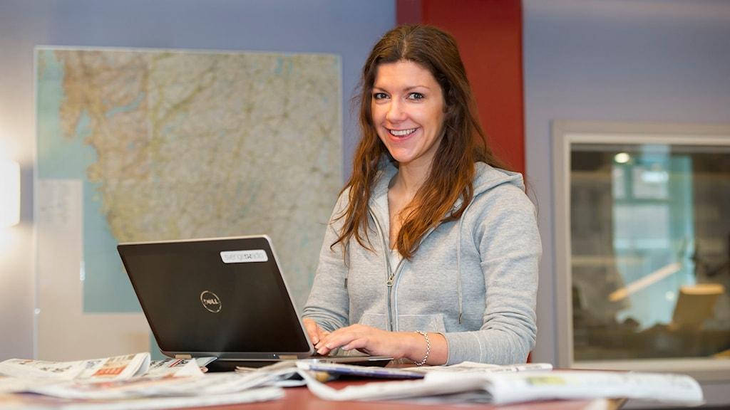 Digital redaktör Karin Ingströmer. Foto: Eva-Lena Johnsson