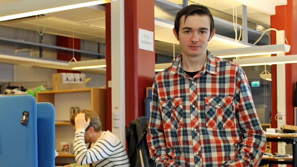 Muhamed Ferhatovic. Foto: Sveriges Radio