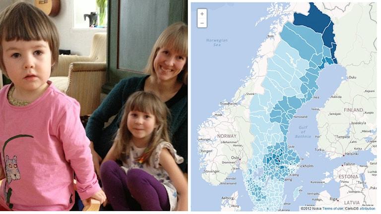 Suomalaistaustaiset tilastoina 2012 -teemakuva. Kuva: Sveriges Radio