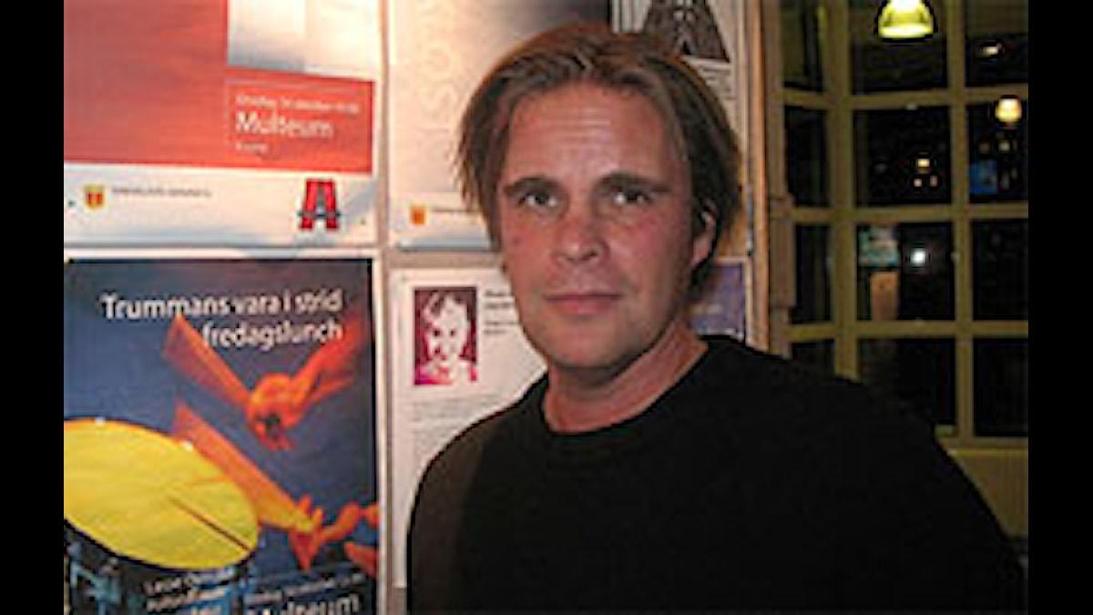 Ismo Railisson on Huomenta Ruotsi -vieraana Foto:Arja Claesson SR Sisuradio