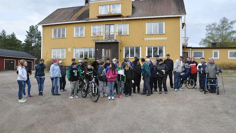 Radioaktiv 2011, Korpilombolo. Foto: Rickard Sundkvist