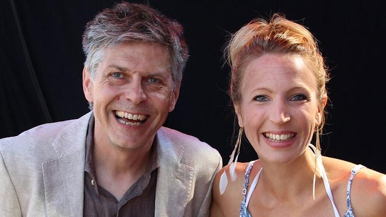 Linn Elmstedt och Patrick Franke.