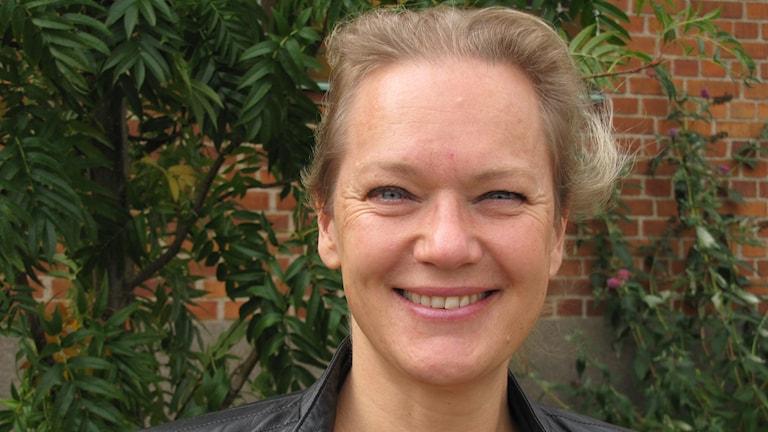 Kristina Klintin. Foto: Ingrid Elfstråhle/Sveriges Radio