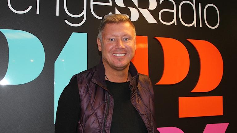 Jörgen Palmqvist. Foto: Ingrid Elfstråhle/Sveriges Radio