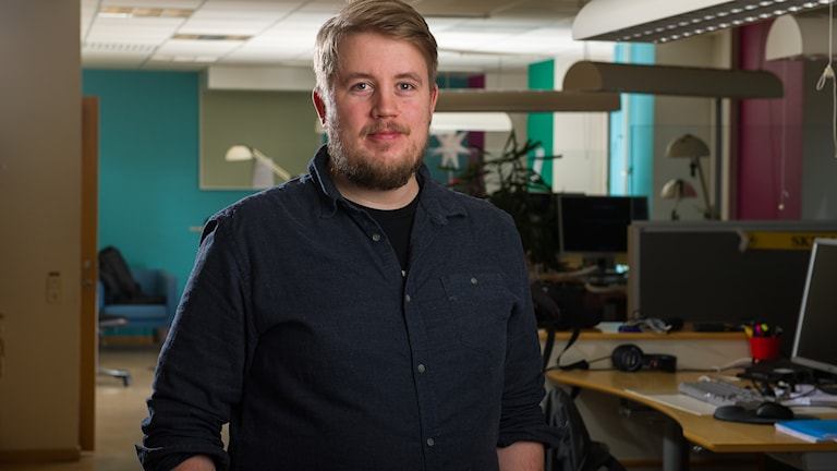 Anders Lundqvist som är reporter.