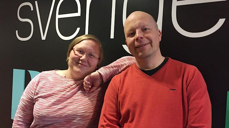 Jörgen Heikki och Anne-Marit Päiviö