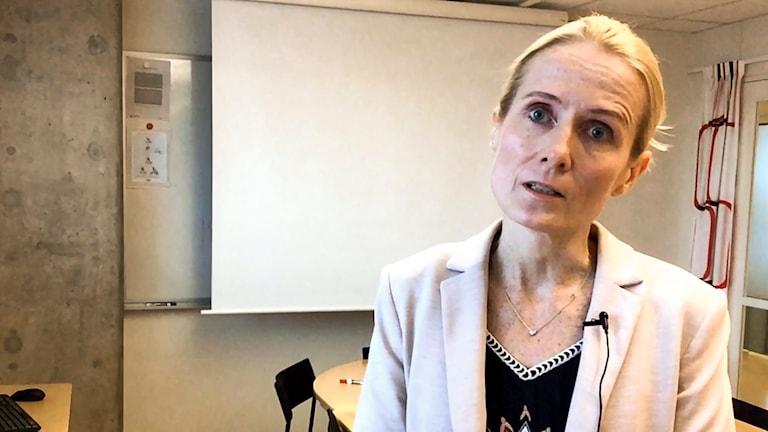 Sari Pesonen, utredningssekreterare.