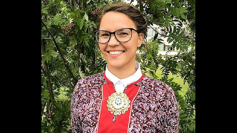 Samiska rådets kulturavdelningschef Christina Hætta