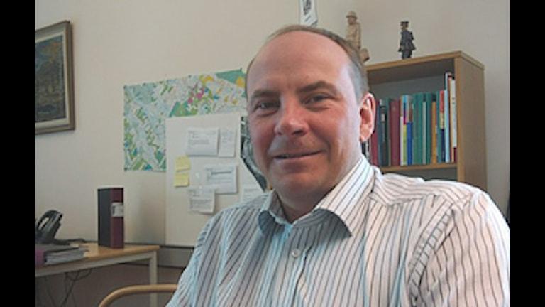 Vilhelminas kommunchef Karl-Johan Ottosson. Foto David Rydenfalk