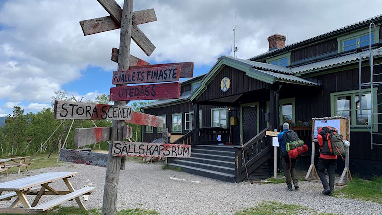 Saltoluokta - platsen för Saltofolk festivalen som firar 40 år.