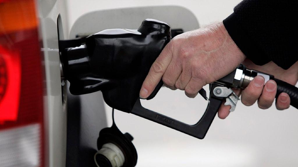 tankar bensin eller disel
