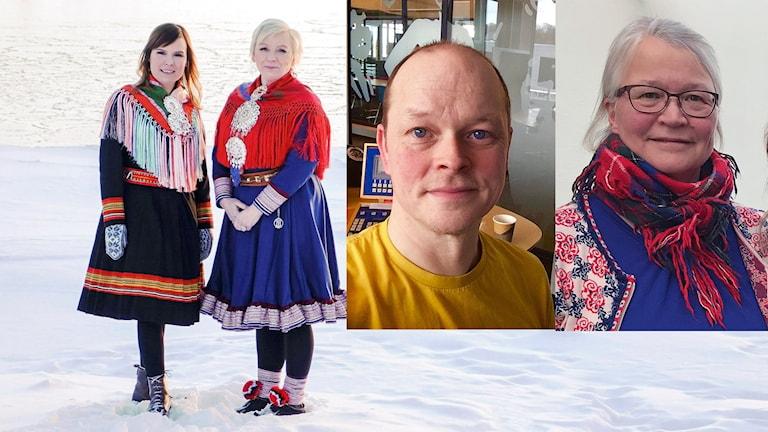 Gäster i veckans Giellapodda är Ánndaris Rimpi och Marie-Louise Allas