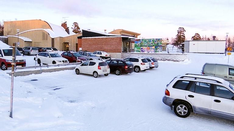 Kiruna sameskola har blivit för trång och nya moduler är på väg.